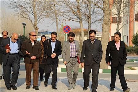 بازدید معاونت دانشگاه علوم پزشکی تهران  و نماینده وزرات بهداشت از دانشگاه آزاد واحد شهرقدس    Pardis Soheili