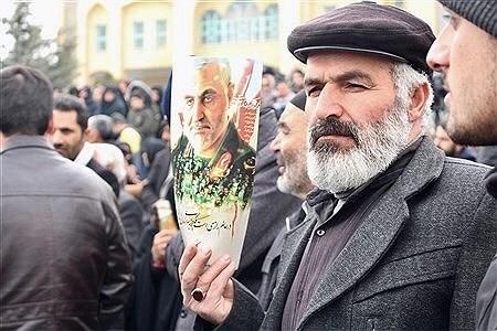 تشییع پیکر شهدای سانحه هواپیمای اوکراینی در همدان | Amin Khoshroo