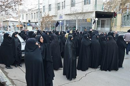حضور مردم  فیروزکوه درراهپیمایی دفاع از ولایت فقیه و تکریم شهدای مقاومت   | Fateneh shah hoseeini