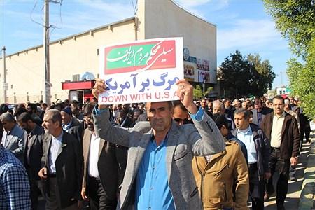 حماسه حضور مردم بوشهر | Abdol hossein sadeghi
