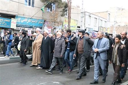 راهپیمایی مردم شهرقدس درحمایت از سپاه پاسداران | Mohammad javad Maher