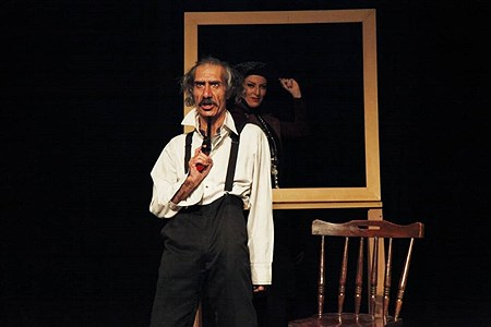 اجرای نمایش خرس درخانه نمایش مهرگان | Ramin Zaminpeyma