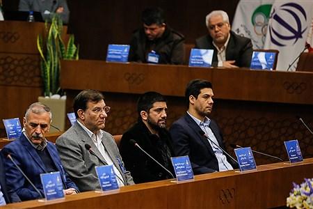 چهل و هفتمین مجمع عمومی کمیته ملی المپیک | Ali Sharifzade