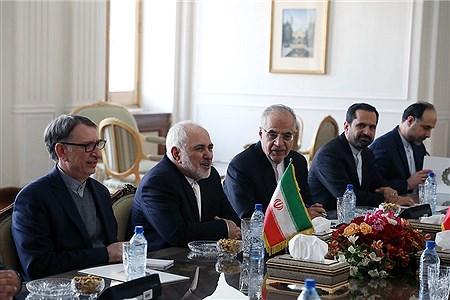 دیدار ظریف با وزیر امور خارجه ونزوئلا | Bahman Sadeghi