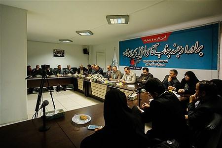 آیین تکریم و معارفه قائم مقام سازمان دانش آموزی | Ali Sharifzade