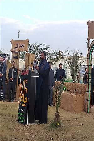 افتتاحیه نمایشگاه بیت الاحزان بمناسبت شهادت حضرت فاطمه(س)درشهرستان حمیدیه   Salimeh Torfi