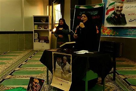 مراسم سوگواری ایام فاطمیه در مدارس چهاردانگه | Fatemeh fathi