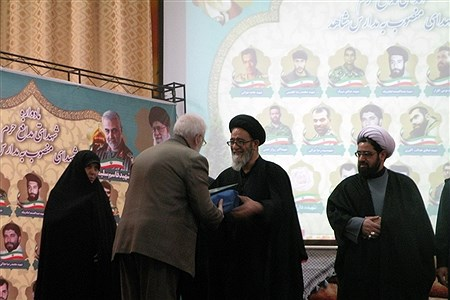یادواره شهدای مدافع حرم و شهدای منصوب به مدارس شاهد در تبریز | Leila Movassagh