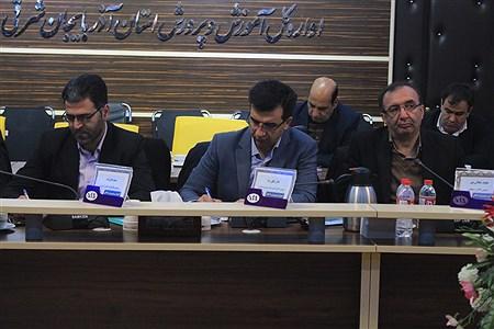 جلسه مشترک شورای معاونین اداره کل و مدیران و روسای آموزش و پرورش نواحی  و مناطق استان آذربایجان شرقی | leila hatami