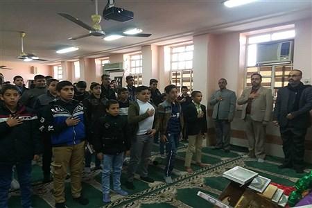 بر گزاری مسابقات قران،عترت ونمازمرحله شهرستانی  دانش آموزان متوسطه اول ودوم حمیدیه   Javad Hamoody