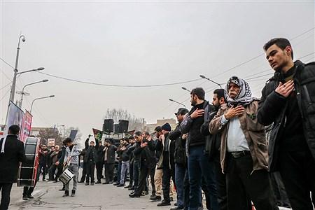عزاداری خیابانی مردم ارومیه در سوگ حضرت فاطمه (س)   Amir Hosein Mollazade