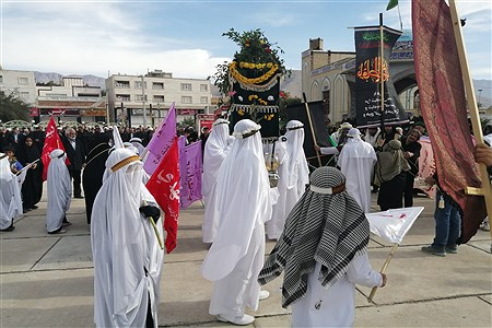 تشییع نمادین پیکرمطهر حضرت فاطمه (س) در شهرستان کازرون | Koorosh Khezri Motlagh