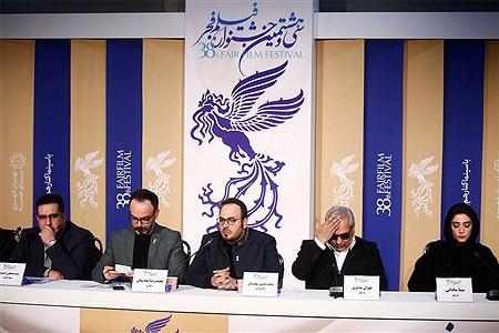 چهارمین روز سی و هشتمین جشنواره فیلم فجر | Ali Sharifzade