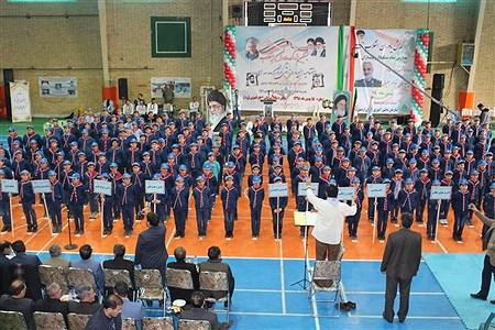 مانور تشکیلاتی «یاوران انقلاب» در اردبیل | mohammady