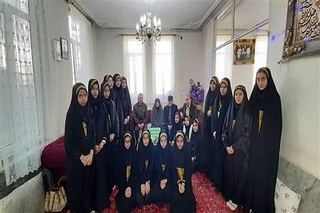 اجرای طرح لاله های روشن در مدرسه دخترانه شاهد ٢ ملایر | Soodabe Takalloo