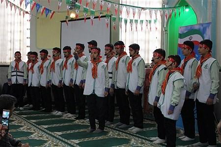 مراسم گرامیداشت پیروزی انقلاب اسلامی و چهلمین روز شهادت سردار سلیمانی با محوریت سازمان دانش آموزی  | Sahar Chahardoli
