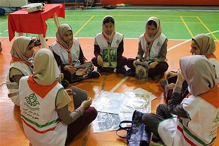 مانور یاوران انقلاب با حضور مدیرکل ،دانش آموزان و مربیان تشکیلات پیشتازان و سایر مسئولین  در کرمانشاه برگزار شد. | Ghazal haghi