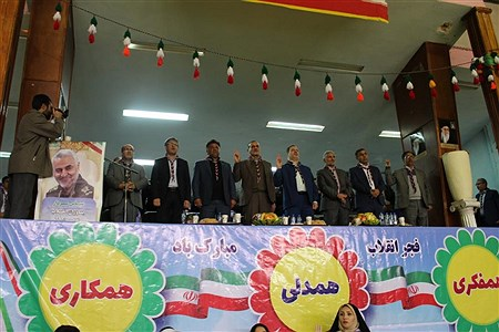 همایش بزرگ یاوران انقلاب با عنوان سپاس سردار   samad ehsani