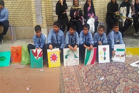 برگزاری جشن های دهه فجر در مدارس کازرون | Koorosh Khezri Motlagh