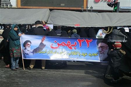 گرامیداشت یوم الله بیست و دوم بهمن در شهرستان ملارد | Seiedeh Zahra Samadi