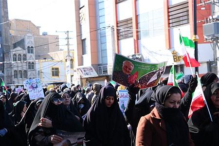 راهپیمایی پرشور مردم بمناسبت گرامیداشت یوم الله ۲۲بهمن | saba Bahrami