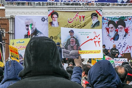 راهپیمایی باشکوه یوم الله ۲۲ بهمن در ارومیه | Amir Hosein Mollazade