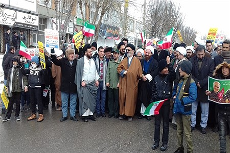 راهپیمایی یوم الله 22 بهمن در شهرستان فیروزکوه | Fatemeh shah hosseini