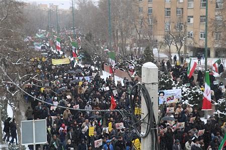 حضور پرشور مردم همدان در راهپیمایی ۲۲بهمن  | Ali Bayat