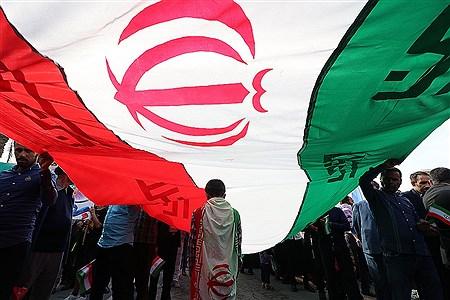راهپیمایی 22 بهمن در جزیره کیش | Amir Hossein Yeganeh