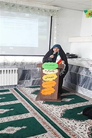 برگزاری یادواره شهیدان سلطانی در دبستان شاهد ٢ ملایر | Soodabe Takalloo