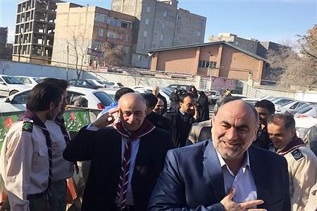 همایش یاوران انقلاب در خوی | Sina Mirzamohammadi