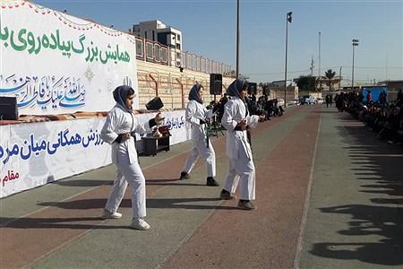 همایش پیاده روری ۲۰۰۰نفری بانوان فرهنگی ناحیه یک اهواز | Setayesh Yazdi