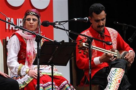 چهارمین  شب سی و پنجمین جشنواره موسیقی فجر   Zahra Alihashemi