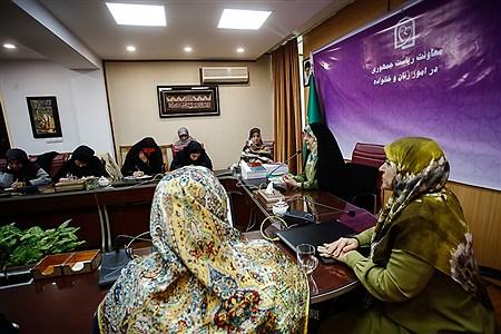 نشست خبری معصومه ابتکار   Ali Sharifzade