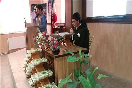 برگزاری محفل انس با قرآن در مدرسه علامه حلی ١ همدان | Falakdin