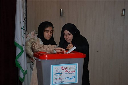 برگزاری همایش رأی اولی های ناحیه یک ری   Nima hooshmand