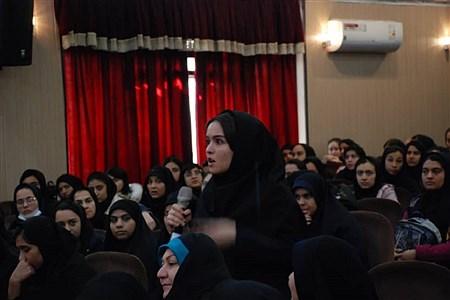 برگزاری همایش رأی اولی های ناحیه یک ری   Aref rezaei