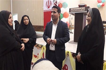 میلاد حضرت فاطمه(س) و هفته زن شهرستان امیدیه | ROoshanak    salashor