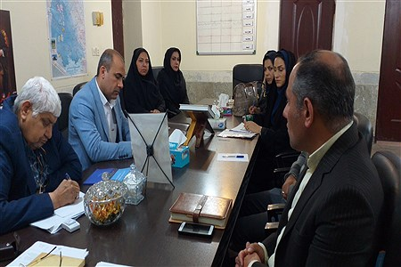 برگزاری جلسه سرگروه های آموزشی ابتدایی  شهرستان حمیدیه   SalimehTorfi