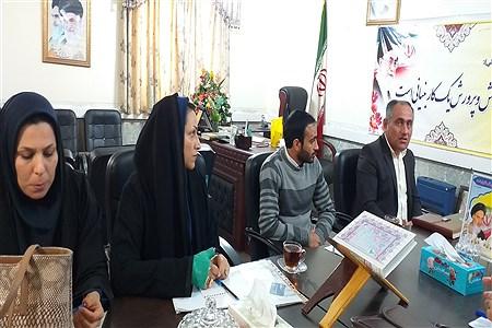 برگزاری جلسه سرگروه های آموزشی ابتدایی  شهرستان حمیدیه | SalimehTorfi