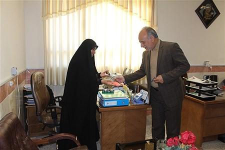 تجلیل از بانوان فرهنگی به مناسبت هفته زن   MohadesehHesami