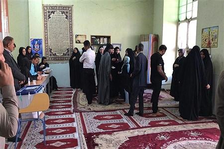 برگزاری یازدهمین دوره انتخابات مجلس شورای اسلامی درشهرستان حمیدیه | FatemehSaridey