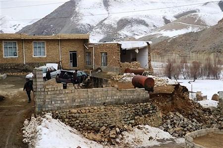 خسارت زلزله 5.7 ریشتری زلزله قطور خوی   Saeid Nouri