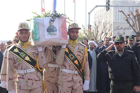 تشیع پیکر سربازشهید امنیت  درشهرستان قرچک   MohammadRezaArdestani