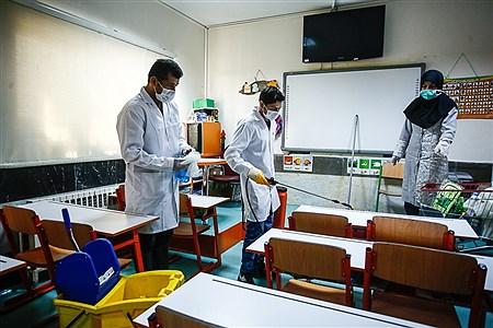 ضدعفونی مدارس شهر تهران    Ali Sharifzade
