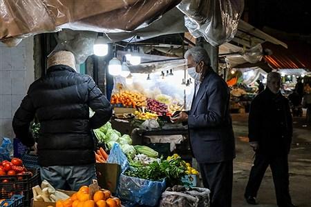 ماسک میهمان بازار شب عید | Amir Hosein Mollazade