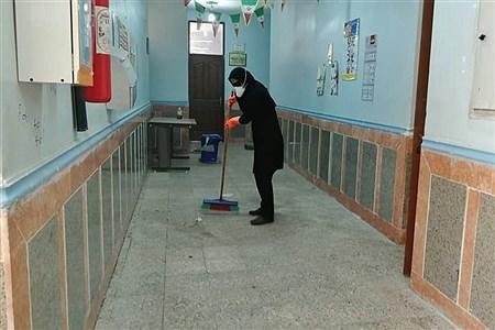 ضدعفونی و گندزدایی  مدارس امیدیه | Sohayla   Gholipoor