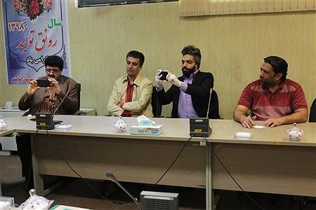 نشست خبری مدیر شبکه بهداشت و درمان شهرستان اسلامشهر با اصحاب رسانه و خبرنگاران   Fatemeh Gadamzadeh