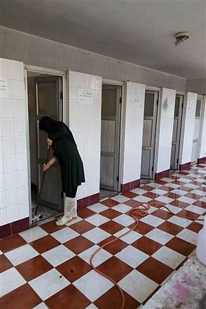 گندزدایی دبیرستان تشکیلاتی دخترانه پاینده در اهواز  | Farah Saki
