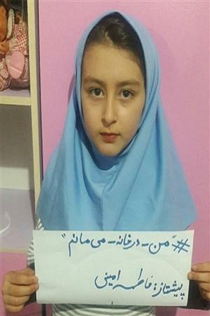 پویش «من در خانه می مانم» پیشتازان استان قزوین | pana qazvin